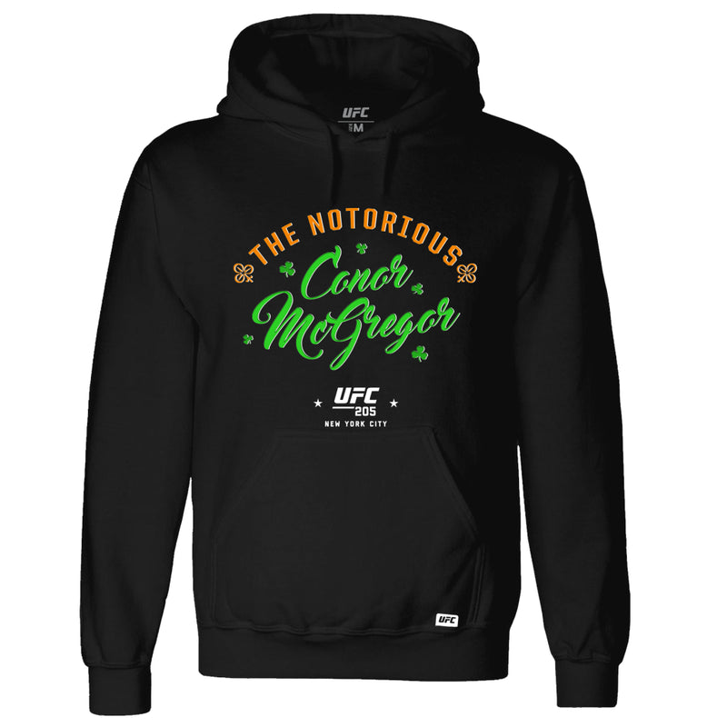 "UFC 205 Conor ""The Notorious"" McGregor Script Kid's Hoodie-Black"