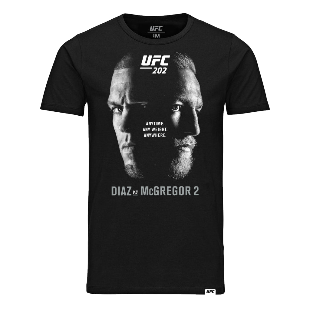UFC 202 Diaz vs McGregor 2 Event T-Shirt