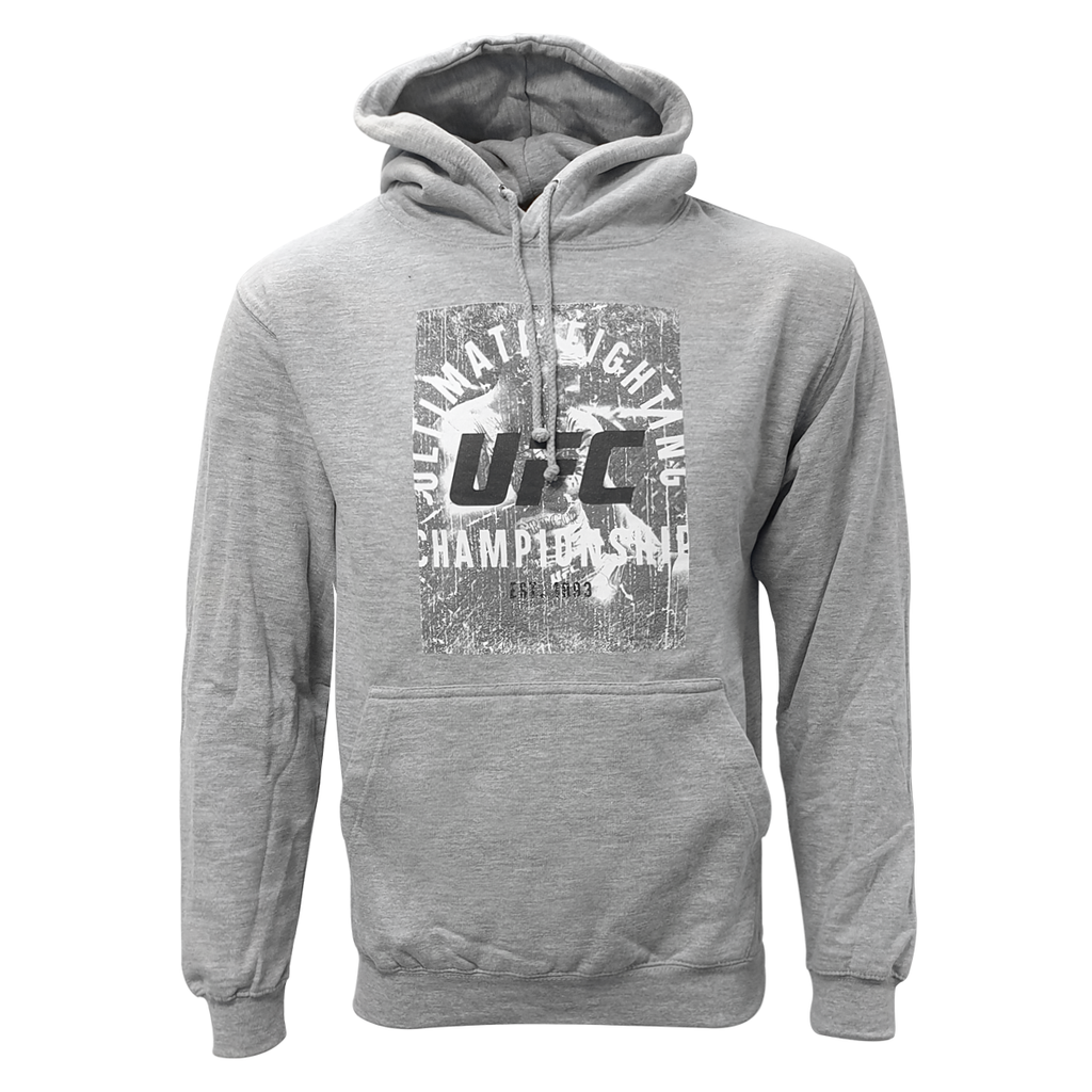 "Conor ""The Notorious"" McGregor ""Ulti-Man"" Octagon Ultimate Fighting Championship Hoodie Heather Grey"