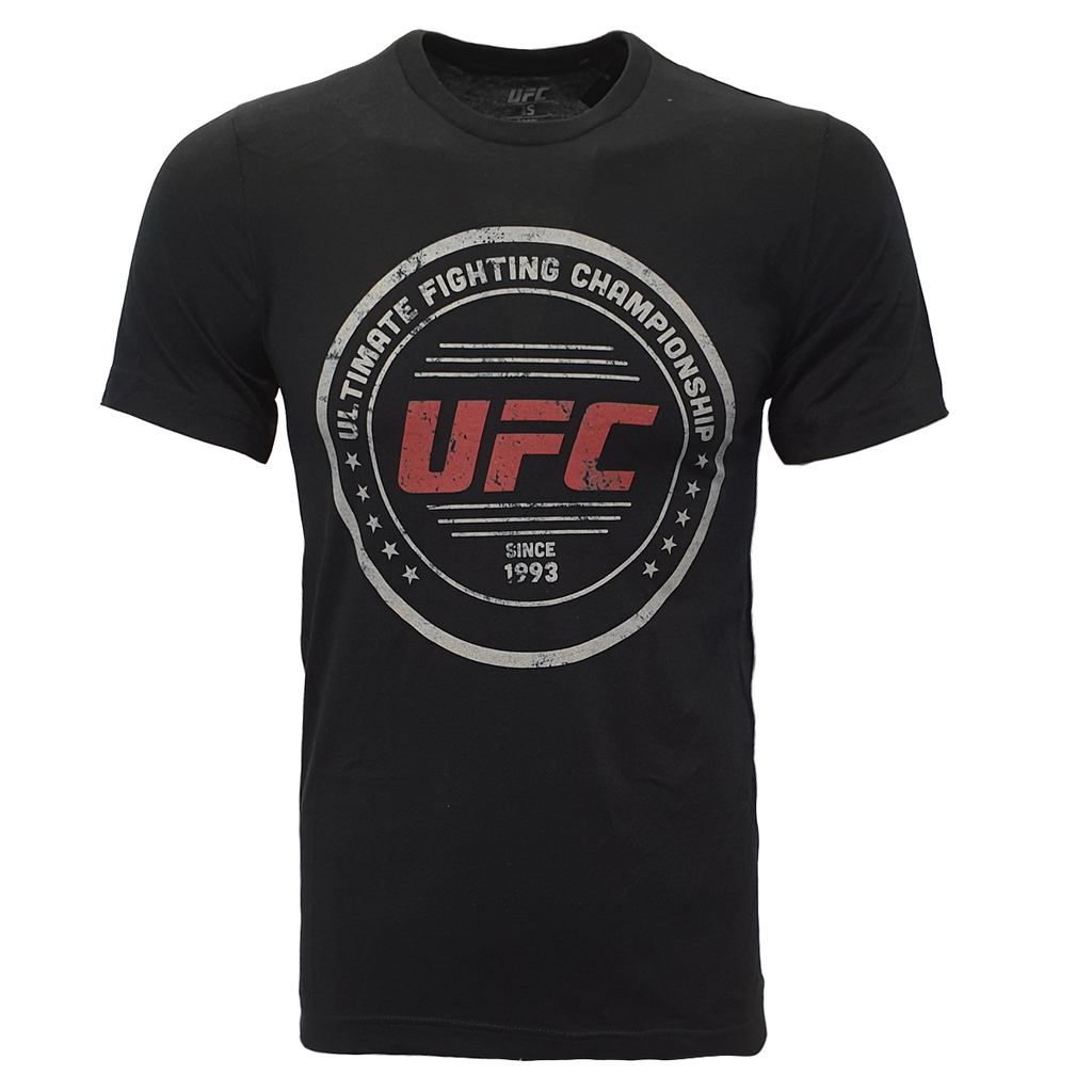 Men's UFC Circle logo Tee - Black