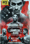 "UFC Fight Night 127 Werdum vs. Volkov London Autograph Event Posters 27"" x 39"""