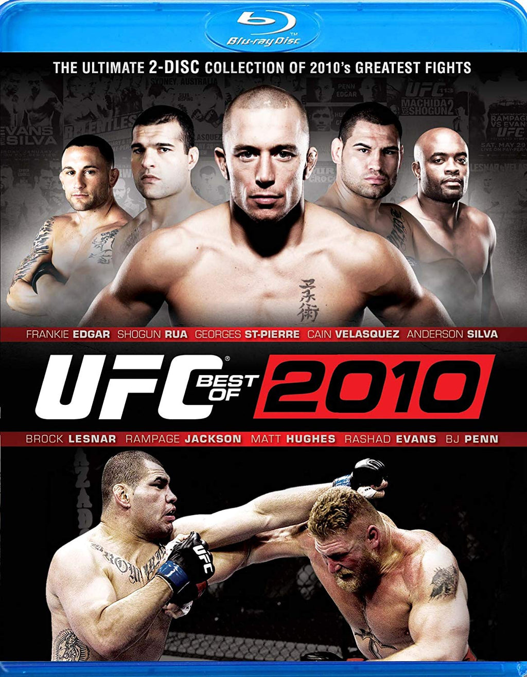 UFC: Best of 2010 Blu-ray