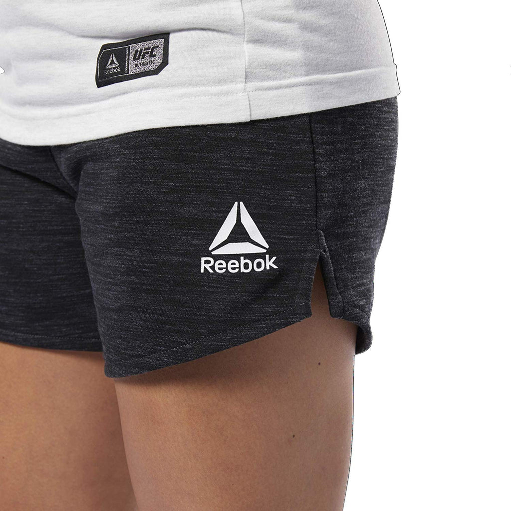 UFC Reebok Fight Week Shorts Womens -Black