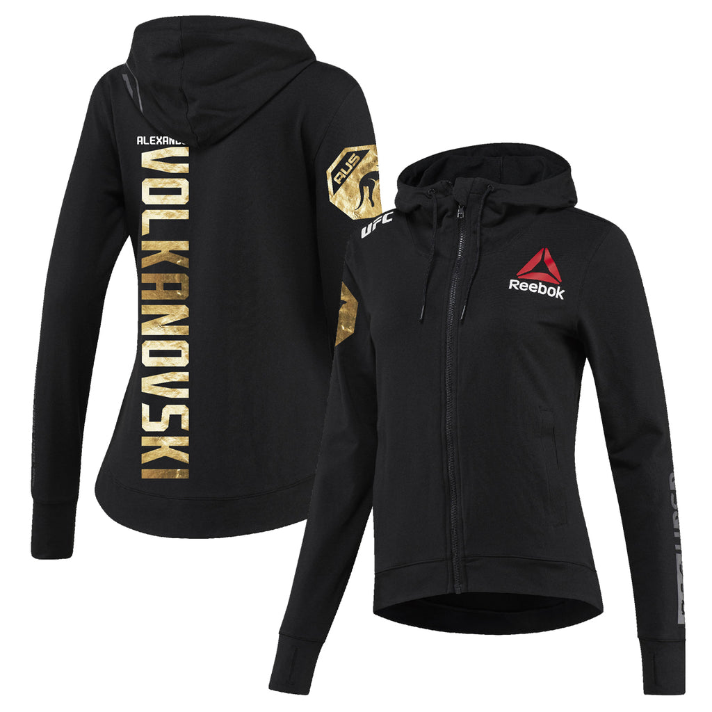 Women's Reebok Alexander Volkanovski Champion UFC Fight Night Walkout Hoodie Replica