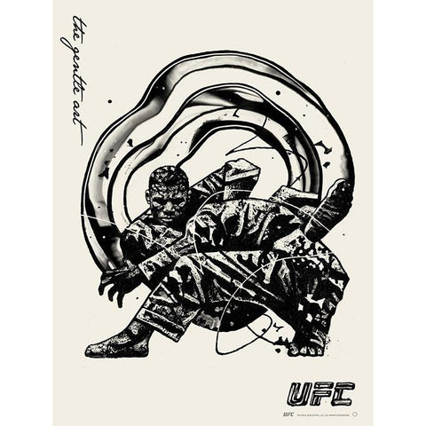 UFC 258: Usman vs Burns Autographed Event Poster
