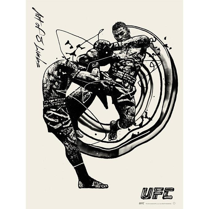 UFC Disciplines Art of 8 Limbs Poster