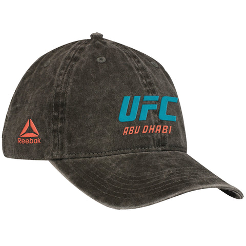 Men's Reebok UFC Flat Visor Flex Hat Grey