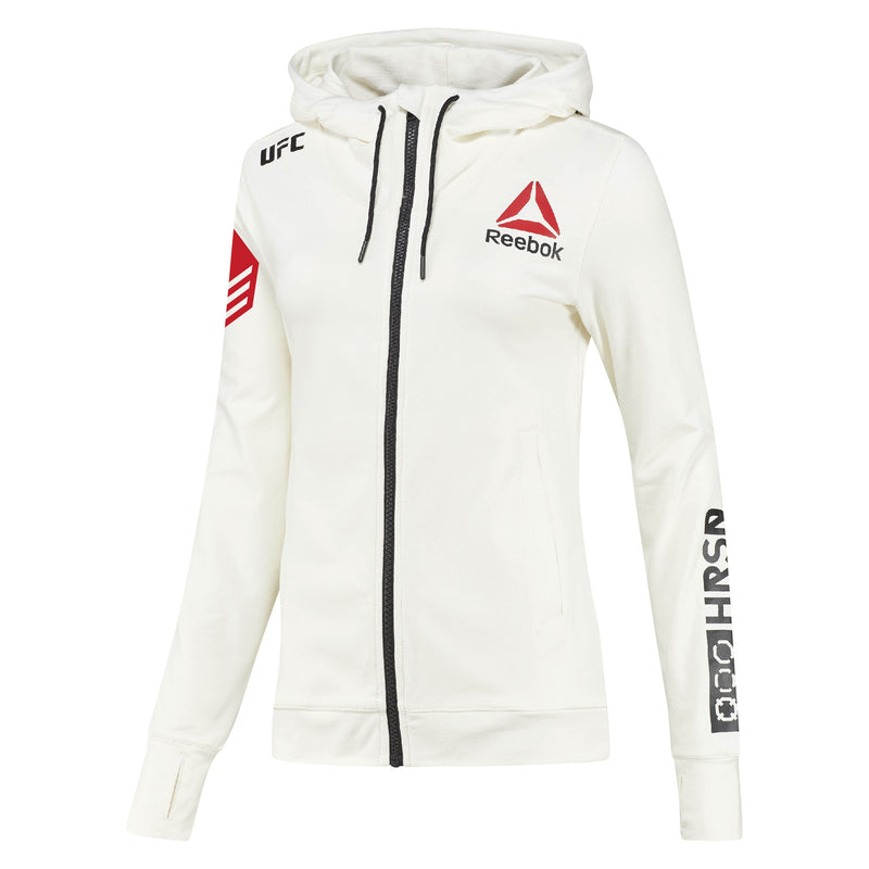 Women's Reebok Ben Askren Chalk UFC Fight Night Walkout Hoodie Replica