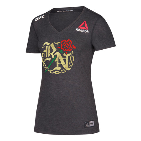 Women's Reebok Rose Namjunas White UFC 217 Legacy Walkout Series Jersey