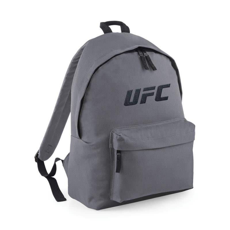 UFC Embroidered Backpack -Grey