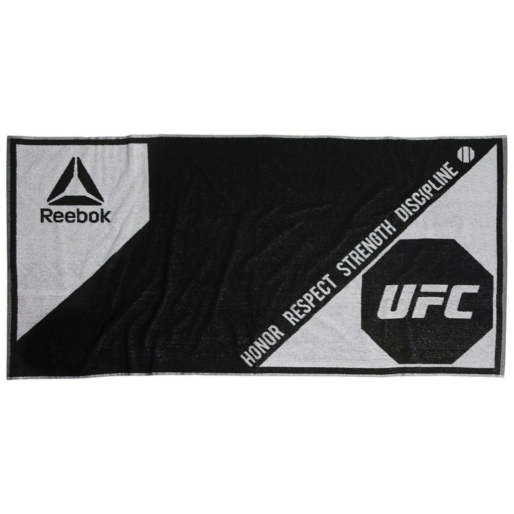 Reebok UFC Honor Respect Strength Discipline Cotton Towel