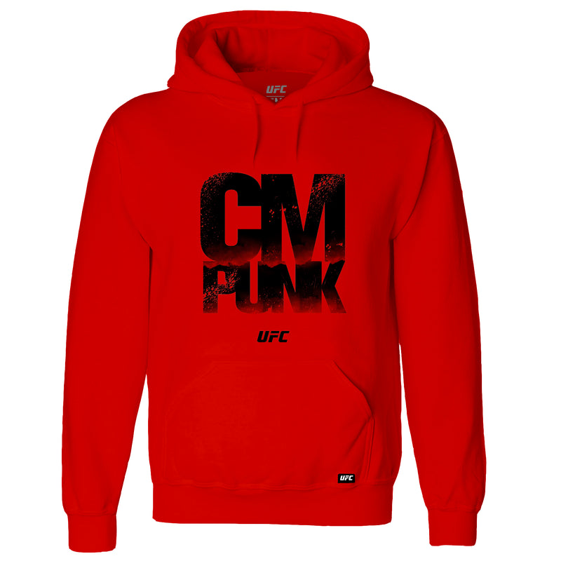 UFC CM Punk Quote Hoodie -Red