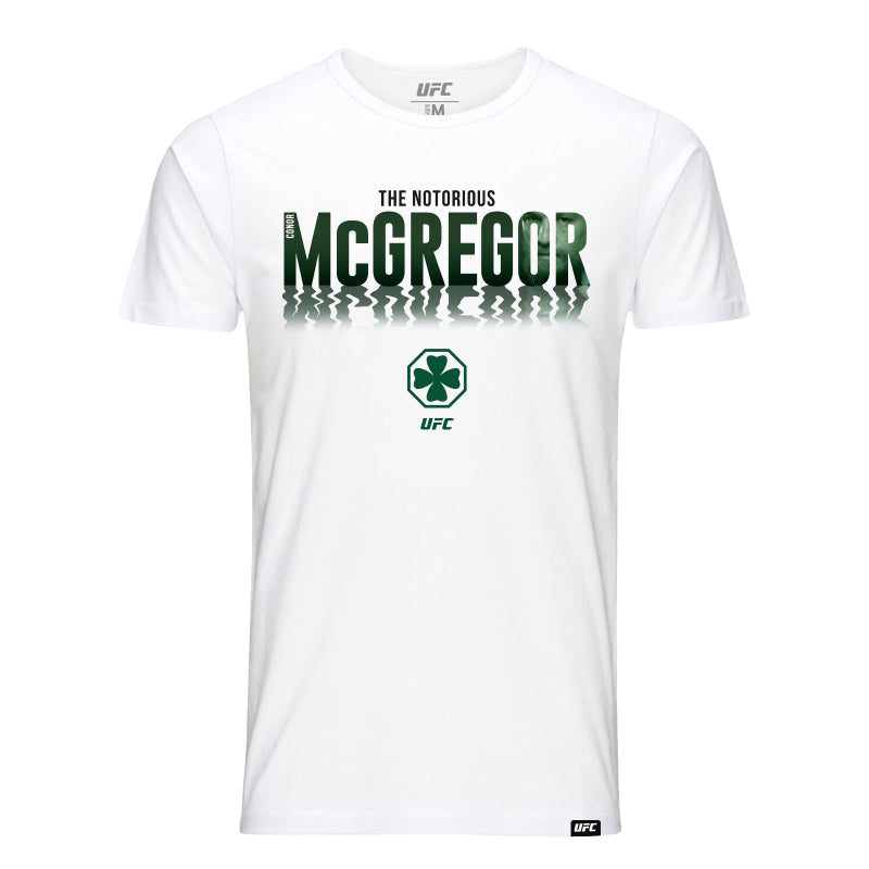 Conor McGregor Shadow Face T-Shirt - White