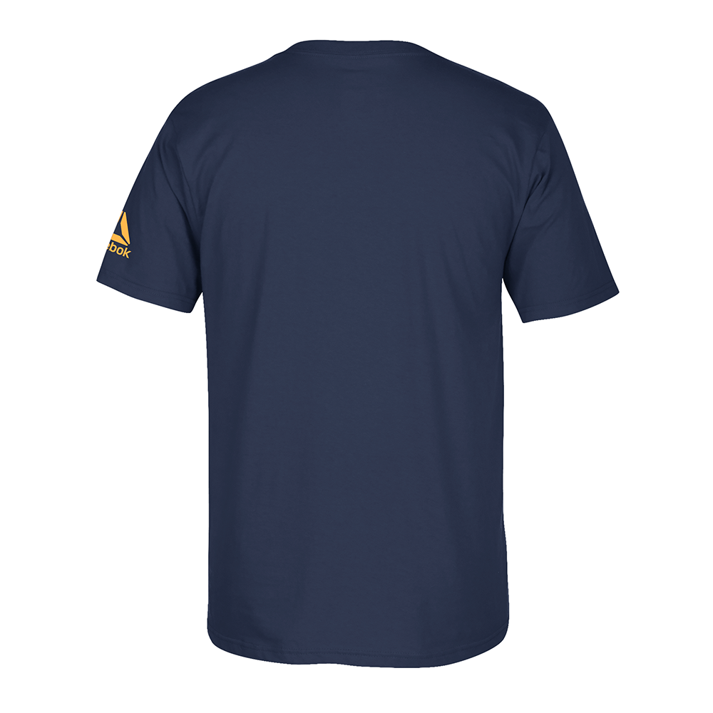 "Men's Reebok Donald ""Cowboy"" Cerrone Rattle T-Shirt -Navy"