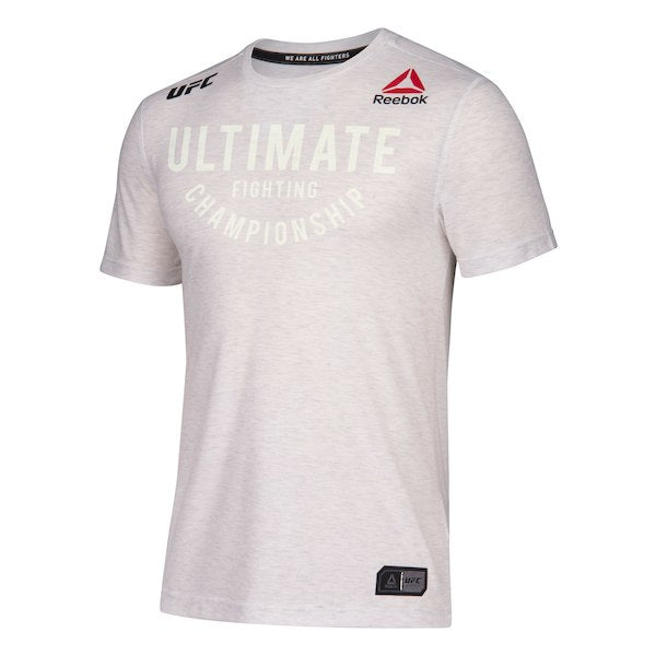 Personalised Men's Reebok Chalk Authentic UFC Fight Night Walkout Jersey