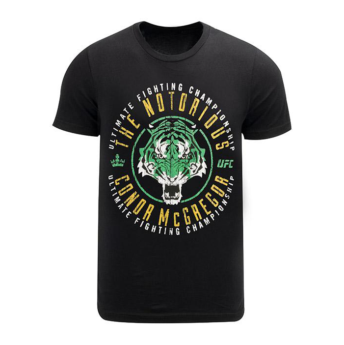 "UFC Conor ""The Notorious"" McGregor DCM Tiger T-Shirt"