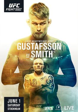 "UFC Fight Night Gustafsson vs. Smith Stockholm Autograph Event Posters 27"" x 39"""