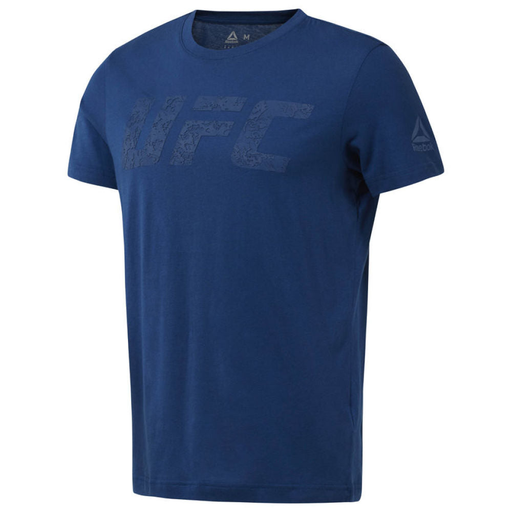 Reebok UFC Fan Gear Logo Tee -Blue