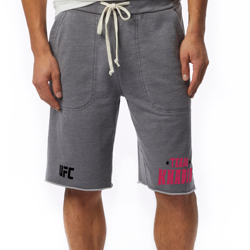 UFC Team Khabib Nurmagomedov Fleece Short - Grey Heather