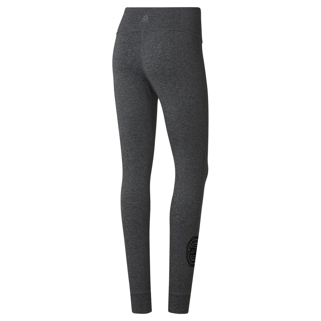 UFC Womens Reebok LUX Tight Pant-Dark Grey