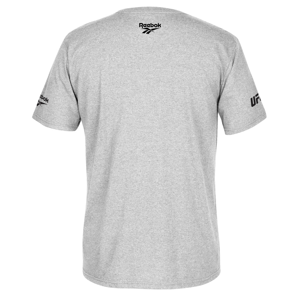 Men's Reebok UFC 244 NYC Influencer T-Shirt-Grey