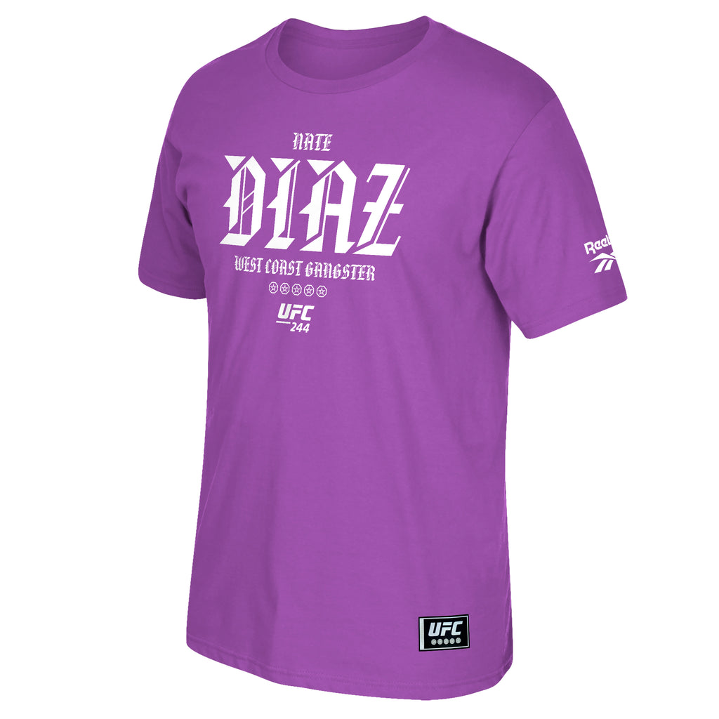 UFC 244 Nate Diaz Camp Tee-Purple