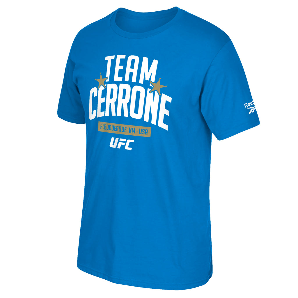 UFC Team Donald Cerrone Camp Short Sleeve Crew T-Shirt  - Royal
