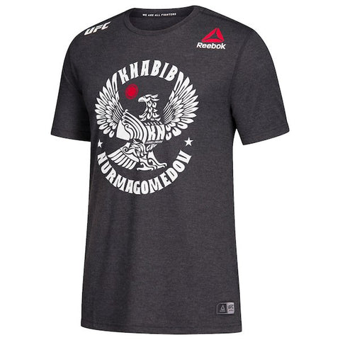 "UFC Khabib ""The Eagle"" Nurmagomedov Established MCMLXXXVIII Graphic Tee-Burgundy"