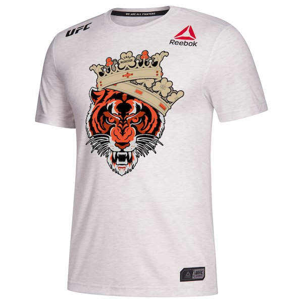 Men's Reebok Conor McGregor Chalk UFC 229 Legacy Series Walkout Jersey