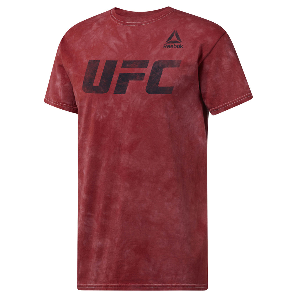 Men's Reebok UFC distressed T-Shirt-Red