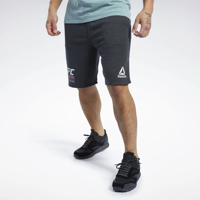 "Men's Reebok UFC Fan Gear ""Fight For Yours"" Short -Black"