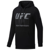 Men's Reebok Black, Fight for yours, UFC Pullover Hoodie - Black