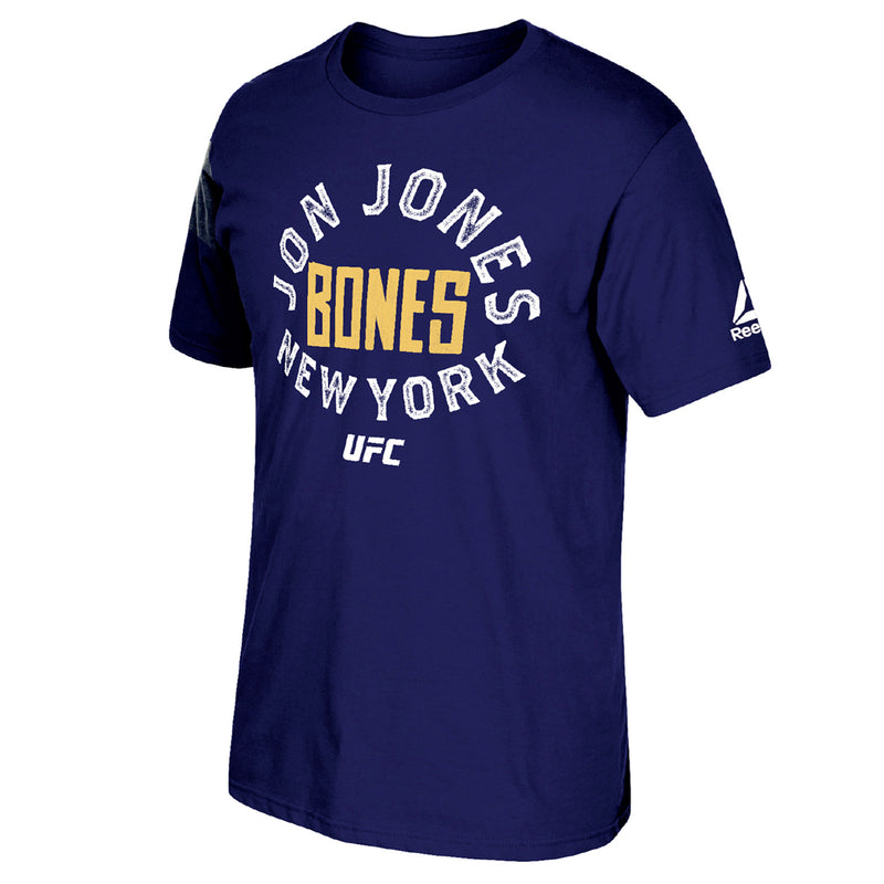 Jon Bones Jones Reebok Unbroken Short Sleeve T-Shirt - Navy