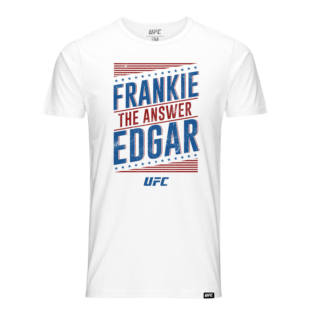 "UFC Frankie ""The Answer"" Edgar Graphic T-Shirt-White"