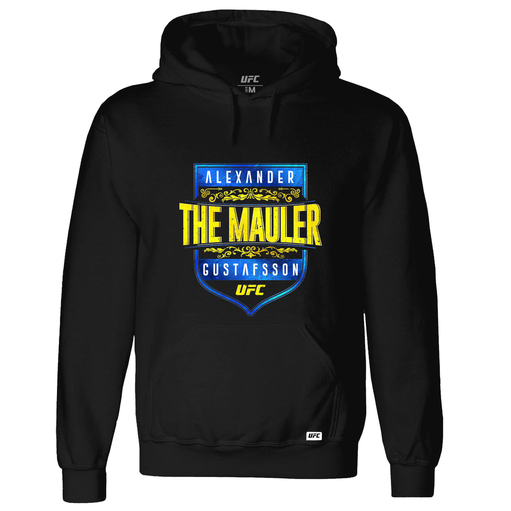 "UFC Alexander ""The Mauler"" Gustafsson Graphic Hoodie-Black"