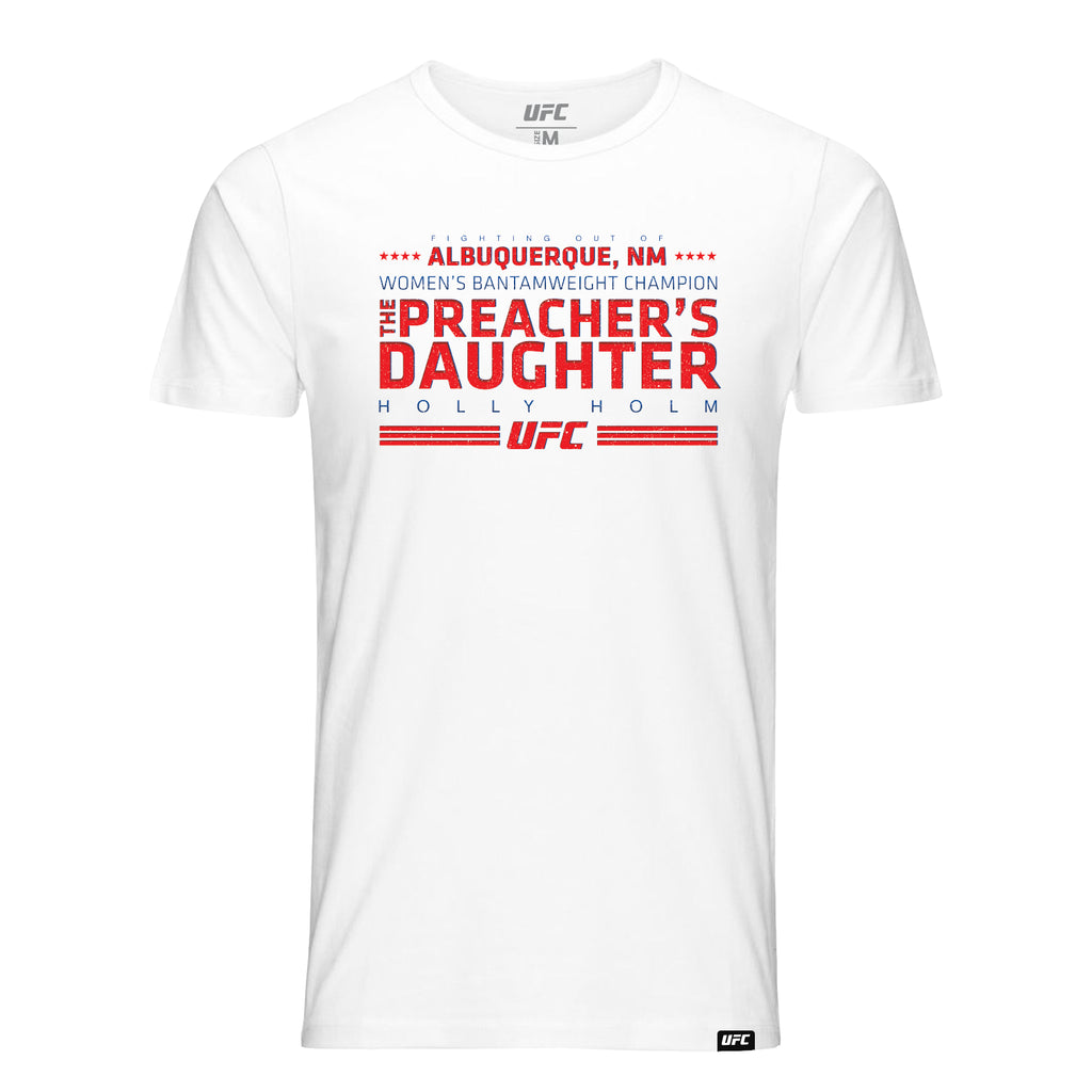 Holly Holms the Preachers Daughter Quote T-Shirt [White]