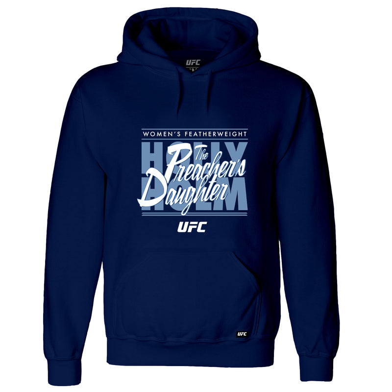 "UFC Holly ""The Preacher's Daughter"" Holm Graphic Hoodie-Navy"