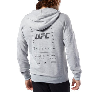 UFC Reebok Fan Gear Fight Week Hoodie -Heather Grey