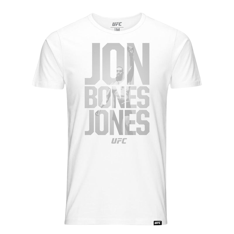 Jon Bones Jones Quote T-Shirt - White