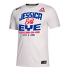Men's Reebok Jessica Eye UFC Legacy Series Walkout Jersey