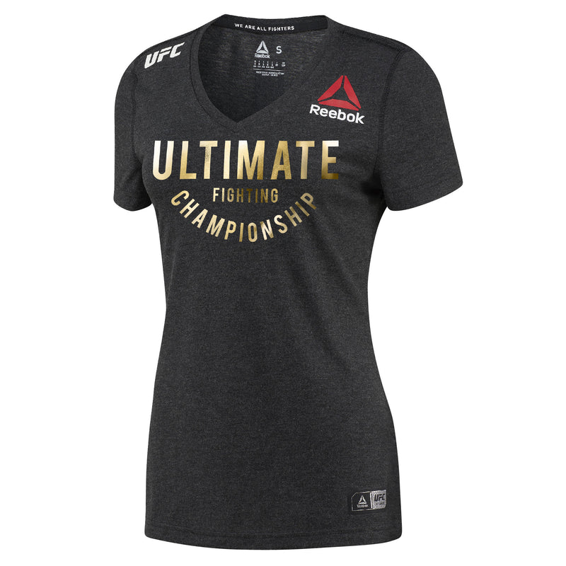 Womens Jon Jones Reebok Champion UFC Fight Night Walkout Jersey
