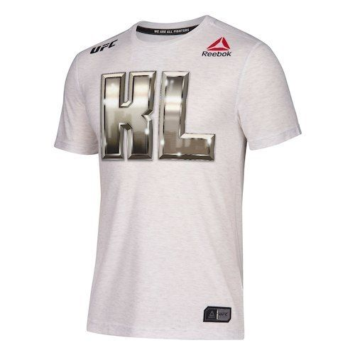 Men's Reebok Kevin Lee White UFC Fight Night Legacy Walkout Series Jersey