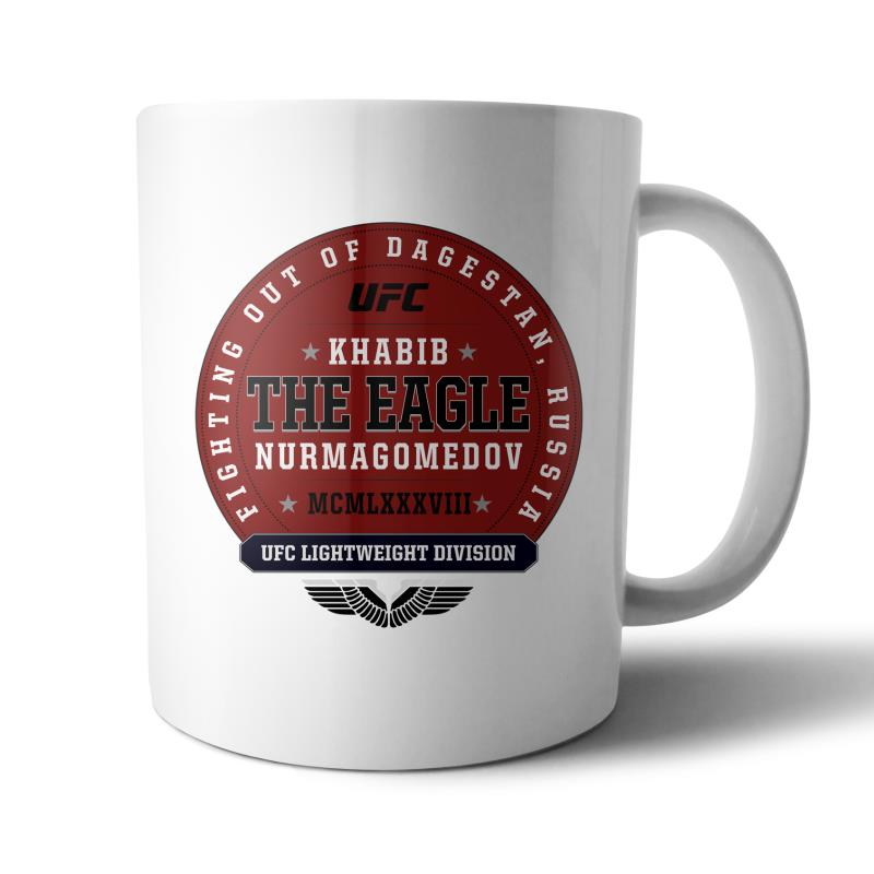 "UFC Khabib ""The Eagle"" Nurmagomedov Established MCMLXXXVIII Graphic Mug"