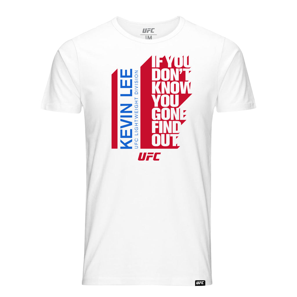 "UFC Kevin ""The Motown Phenom"" Lee Quote T-Shirt-White"