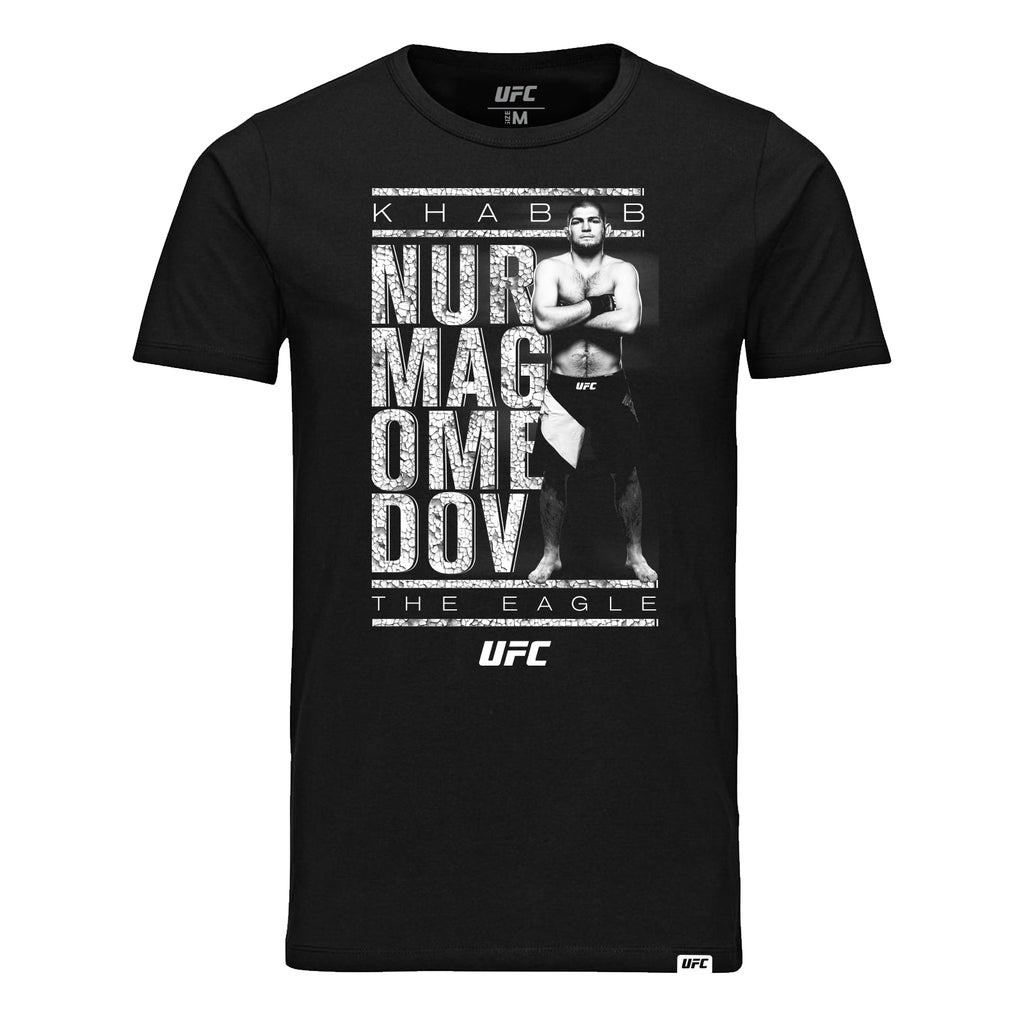 "UFC Khabib ""The Eagle"" Nurmagomedov  Graphic Kid's T-Shirt -Black"