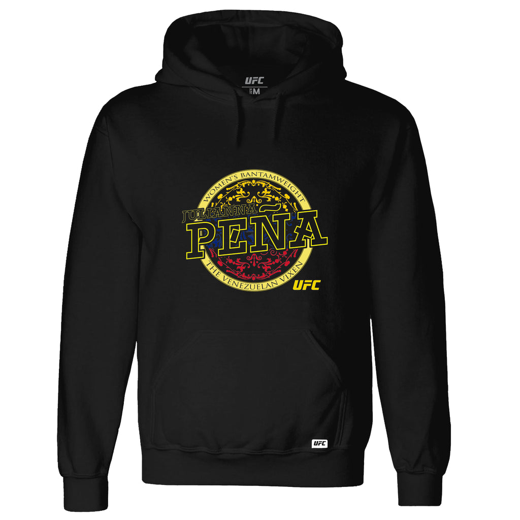 "UFC Julianna Peña ""The Venezuelan Vixen"" Graphic Hoodie-Black"