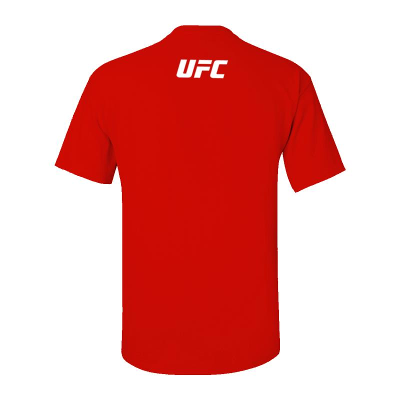 I love UFC Custom T-Shirt -Red