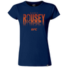 "UFC Amanda ""The Lioness"" Nunes Old School Tee-Black"
