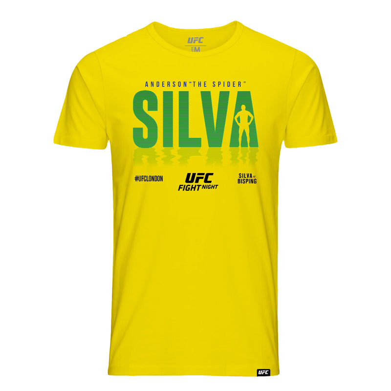 "Anderson ""The Spider"" Silva Shadow T-Shirt Kids -Yellow"