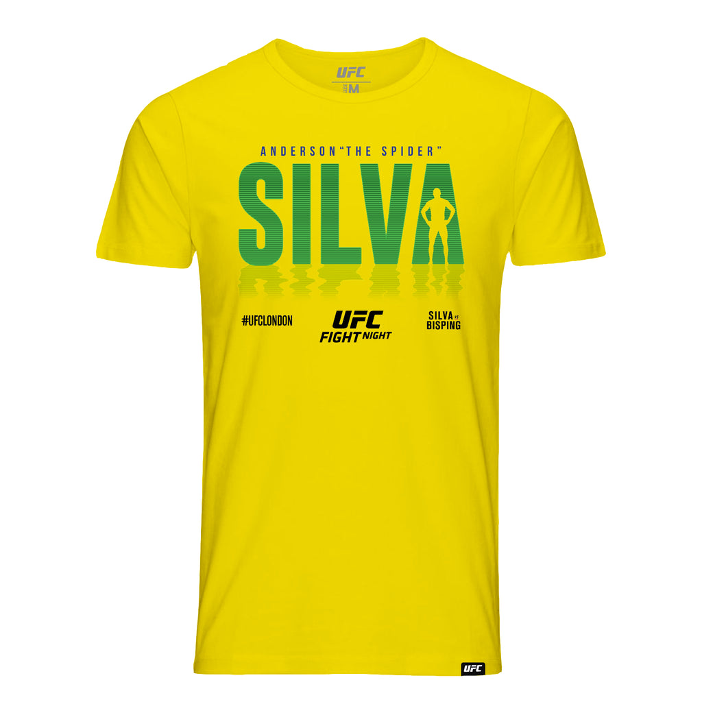 "Anderson ""The Spider"" Silva Shadow T-Shirt -Yellow"